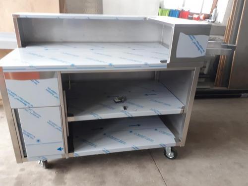Fahrbarer CNS-Schrank