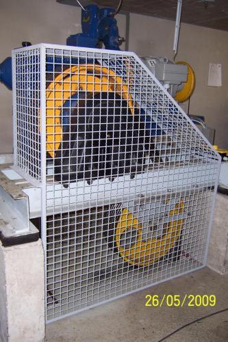 Schutzgitter für Motoren 2